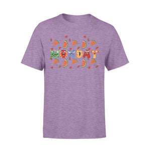 Monday Fruit Evil Style Seven-Day Of The Week - Premium T-shirt