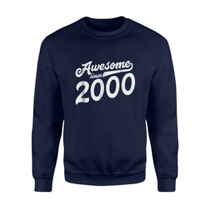 18th Birthday  Gift 2000 Age 18 Year Old Daughter Son Sweatshirt