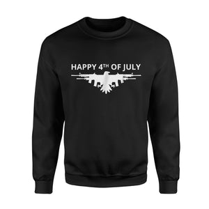 American Eagle Gun Wings 4th Of July Sweatshirt
