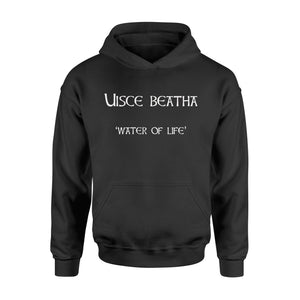 Irish St. Patrick's Day Uisce Beatha Whiskey Hoodie