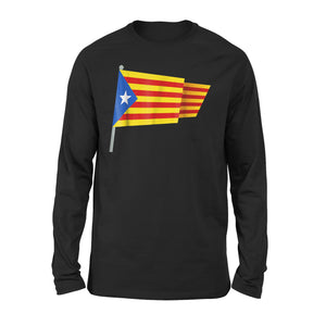 Catalonia Flag Premium Long Sleeve T-Shirt