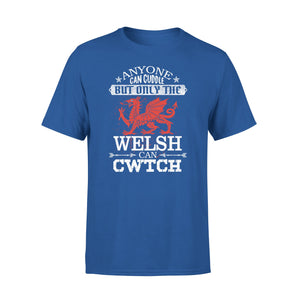 Mens Cotton Crew Neck T-Shirt - Only The Welsh 01