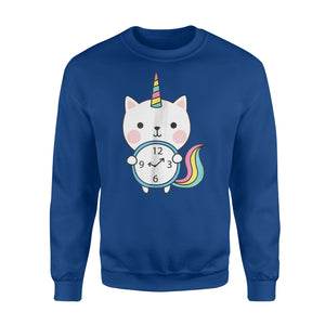 Caticorn Mythical Creatures Back To School Birthday Sweatshirt