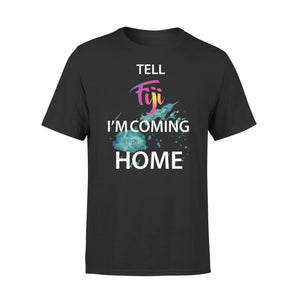Mens Cotton Crew Neck T-Shirt - Im Coming Home 01