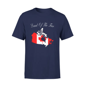 Mens Cotton Crew Neck T-Shirt - Land Of The Free