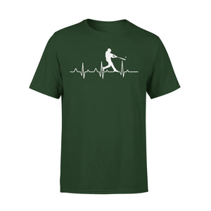 Baseball Heartbeat T-Shirt