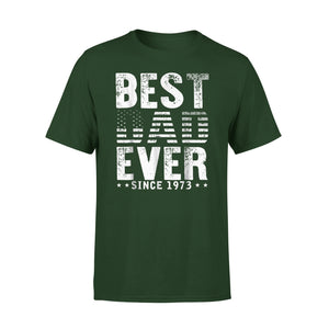 Best Dad Ever Since 1973 45Th T-Shirt