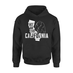 Best Dad Ever California Hoodie