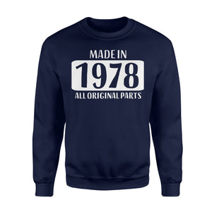 40th Birthday  Gift Women Mother Age 40 Men Fathe Sweatshirt