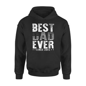Best Dad Ever Since 2001 Hoodie