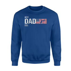 Best Motocross Dad Ever Fathers Day Gift For Biker Sweatshirt
