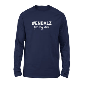 Alzheimers Awareness Long Sleeve T-Shirt