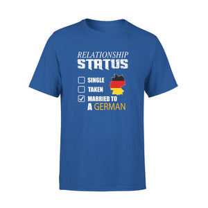 Mens Cotton Crew Neck T-Shirt - Relationship Status 01