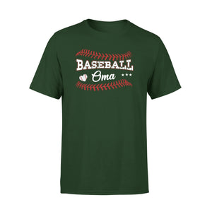 Baseball Oma Softball Dutch Grandma Gift For Mother's Day T-Shirt