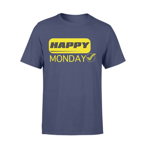 Happy Monday Modern Style Seven-Day Of The Week - Premium T-shirt