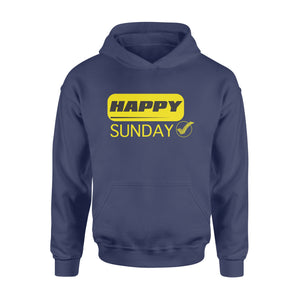 Happy Sunday Modern Style Seven-Day Of The Week Hoodie