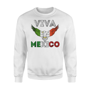 Camiseta Viva Mexico Mexican Independence Day Sweatshirt