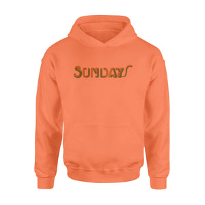 Sunday Funny Kitty The Seven-Day Of The Week Hoodie
