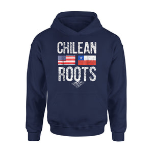 Chilean American Roots Flag Of Chile Premium Hoodie
