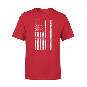 American Speech Therapist Us Flag 4th of July Premium T-Shirt