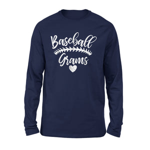 Baseball Grams Long Sleeve T-Shirt