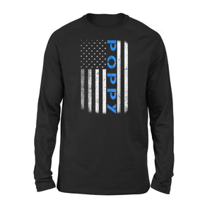 American Blue Poppy Premium Long Sleeve T-Shirt