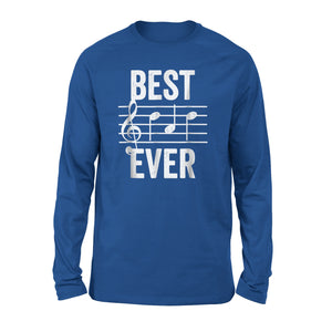 Best Dad Ever Music 05 Long Sleeve T-Shirt