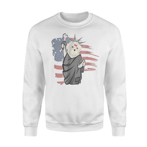 Bichon Frise Independence Day - 4th Of July Sweatshirt
