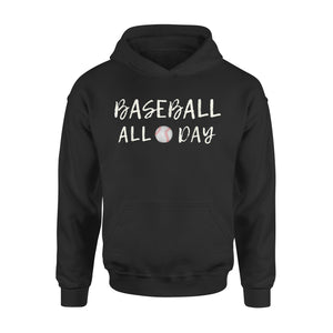 Baseball All Day 02 Hoodie