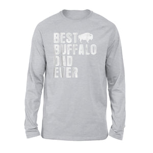 Best Buffalo Dad Ever Long Sleeve T-Shirt
