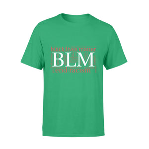 Black Lives Matter T-Shirt #BlackLivesMatter BLM End Racism