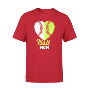 Ball Mom Cool Baseball Mama T-Shirt