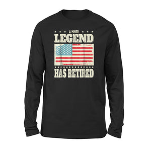 A Miner Legend Has Retired Long Sleeve T-Shirt
