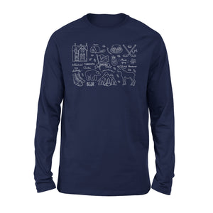 Canada Independence Day 1st July Happy Canada Day Premium Long Sleeve T-Shirt
