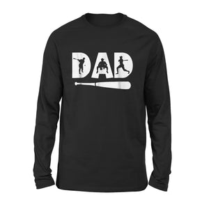 Baseball Dad Long Sleeve T-Shirt