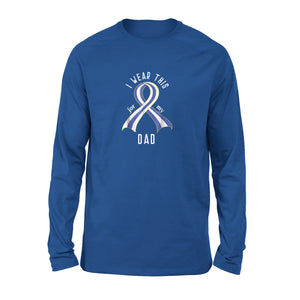 Als Awareness Ribbon Long Sleeve T-Shirt
