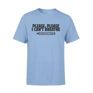 I Can't Breathe Shirt I Fight For Who Can't Get Up Justice For George Floyd T-Shirt