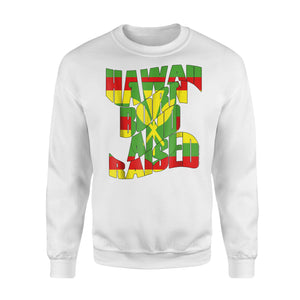 Hawaii Born And Raised Kanaka Maoli Sweatshirt