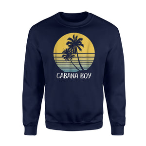 Cabana Boy Funny Beach Vacation Sweatshirt