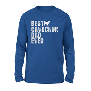 Best Cavachon Dad Ever Long Sleeve T-Shirt