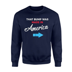 4th Of July Pregnancy Announcement For Dad To Be Sweatshirt