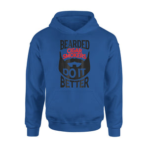 Bearded Cigar Smokers Do It Better Hoodie