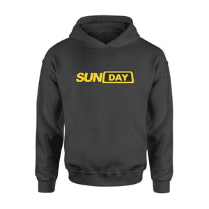 Sunday Fake Taxi Logo Seven-Day Of The Week Hoodie
