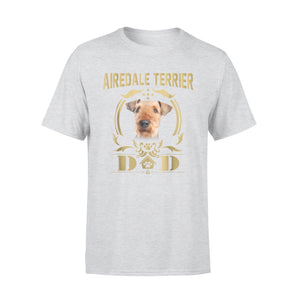 Airedale Terrier Dad Funny T-Shirt