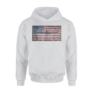 B-17 Flying Fortress Bomber Premium Hoodie
