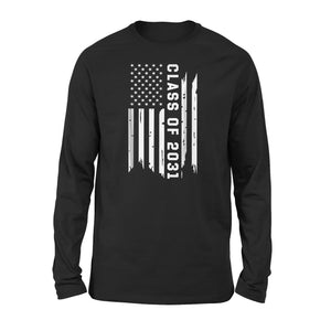 Class Of 2031 Grow With Me Vintage American Premium Long Sleeve T-Shirt