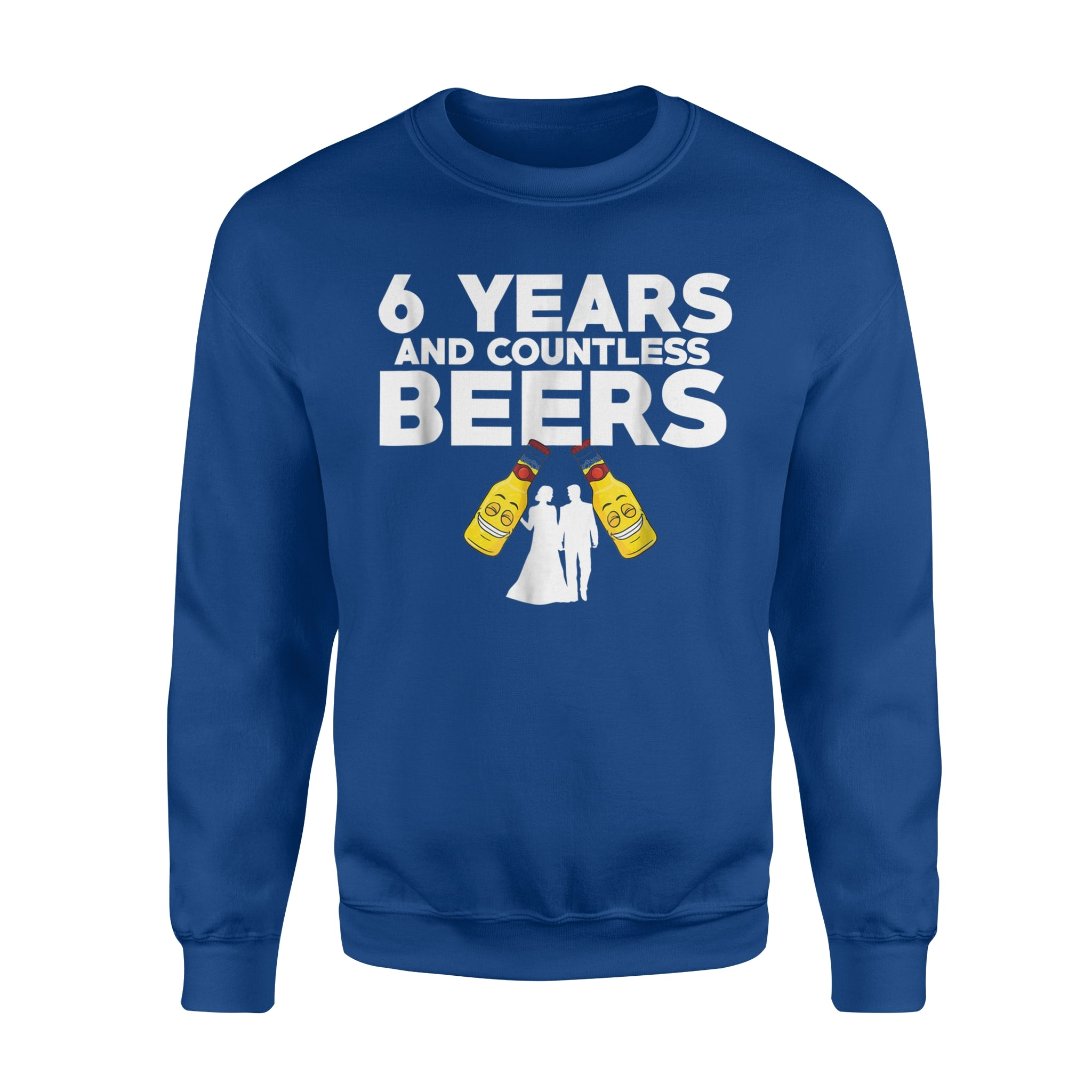6th Wedding Anniversary Gift Ideas For Husband: 6th Wedding Anniversary Funny Husband Love Gift Sweatshirt
