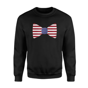American Bow Tie 4th July Sweatshirt
