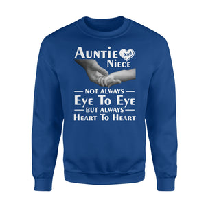 Auntie For Aunt And Niece Women Girls Ladies Friends Sweatshirt