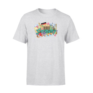 Mens Cotton Crew Neck T-Shirt - Germany 01